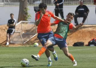 El Valencia pierde 1-4 con el filial en el entrenamiento