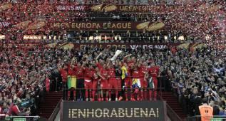 El Sevilla, primer equipo en disputar cinco finales
