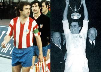 Las camisetas del Real Madrid y el Atlético en la finales de Champions