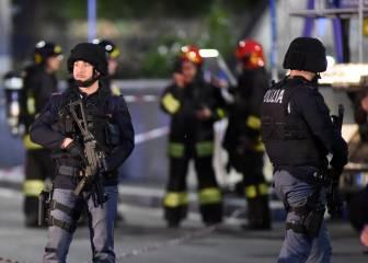 Simulacro de ataque terrorista en San Siro de cara a la final