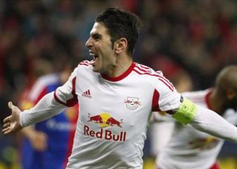 Soriano guía al Salzburgo al tercer doblete consecutivo