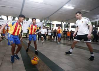 El Valencia jugó donde nació Lim: Bukit Ho Swee