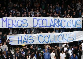 Proponen multar al club por apoyar a los Riazor Blues