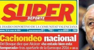 """Superdeporte: lo de Alcácer es un """"cachondeo nacional"""""""