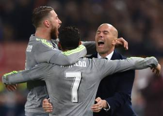 El equipo da la cara por Zidane: 'Vino tranquilo, sin pisar a nadie'