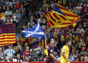 10.000 banderas escocesas por la prohibición de las esteladas