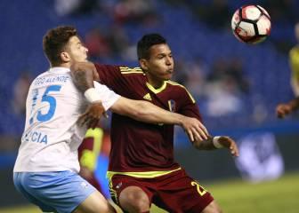 Galicia deja escapar la victoria ante Venezuela en el minuto 92