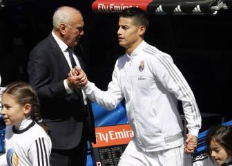El United, la opción preferida de James si se va del Madrid