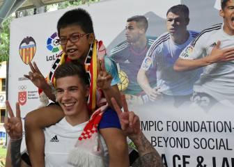 El Valencia y LaLiga: imagen de las becas olímpicas que da Lim