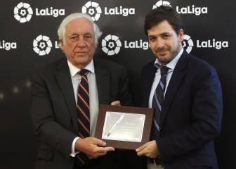 'Queremos que Denis siga, pero el Barça puede repescarlo'