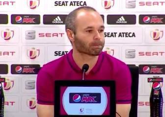 """Iniesta: """"Veo al Sevilla todavía más peligroso por el título"""""""