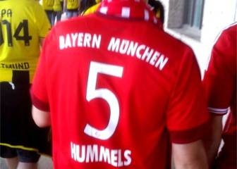 Ya hay hinchas del Bayern con la camiseta de Hummels...