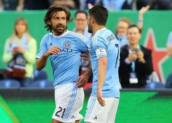 El equipo de Villa y Pirlo cae por 7-0 en el derbi de New York