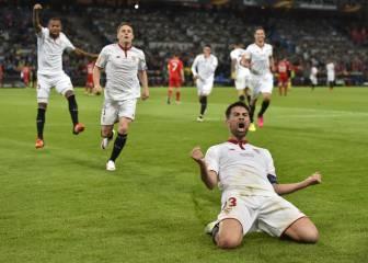 El Sevilla marcó los últimos 13 penaltis que tiró en tandas