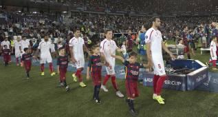 El Sevilla llega a su partido 63 y el Barcelona, al número 62