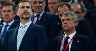 Himno con volumen antipitos en el Calderón para la final