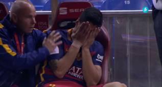 El llanto de Suárez: puede perderse la Copa América