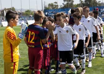 Málaga-Sevilla y Valencia- Barça, semis de la Danone Cup