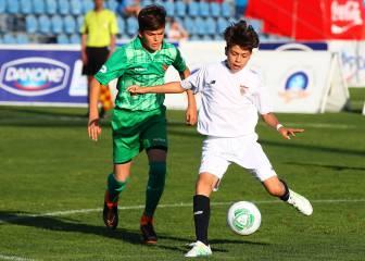 El Sevilla derrota al Valencia y gana la Danone Nations Cup