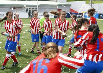 Atlético Féminas sock it to the boys