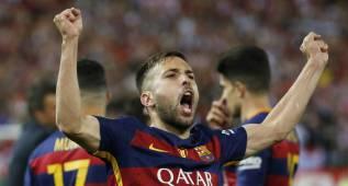 """Jordi Alba: """"El equipo tuvo la casta que se necesitaba"""""""