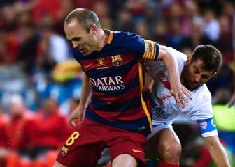 Uno por uno del Barça: Iniesta alumbró el doblete azulgrana