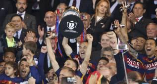 El Barça celebrará el doblete este lunes en el Camp Nou