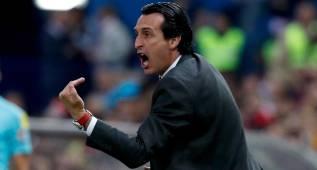 """Emery: """"Con mayor frescura quizá habríamos encontrado el partido"""""""