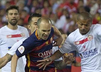 Andrés Iniesta fue elegido mejor jugador del partido