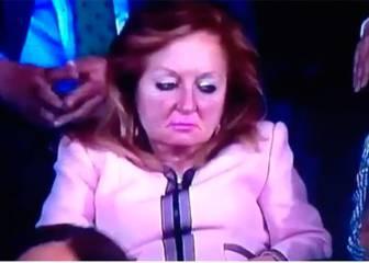 Twitter arde con las siestas de la mujer de Villar en el palco