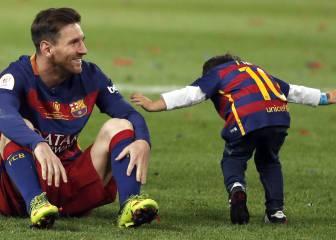 Messi no estuvo en la fiesta del Barça por enfermedad