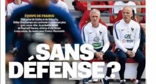 Francia, en vilo por Varane: su lesión deja la zaga en cuadro