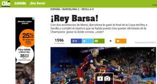 """La prensa mundial se rinde a los culés: """"¡Rey Barça!"""""""