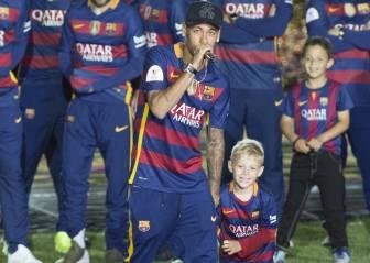 Neymar deja caer que se queda: