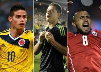 10 figuras que debes seguir en esta Copa América Centenario