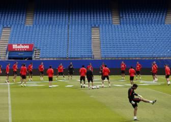 Simeone se encierra en el Calderón para preparar la final