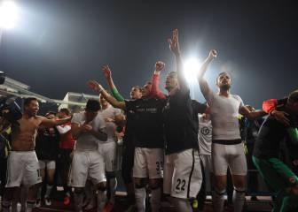 El Eintracht gana al Núremberg y se mantiene en la Bundesliga