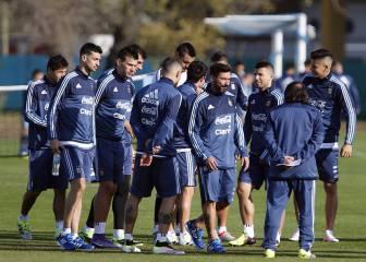 Argentina inició la preparación para la Copa América
