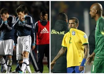 Cinco grandes decepciones en la historia de la Copa América