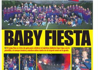 Prensa catalana: Babyfiesta y trabajo para Robert
