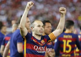 Iniesta, a Barça TV: 'Me gustaría tener otra vez 26 años…'