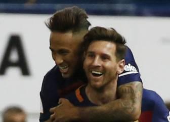 """Neymar: """"No hay otro número uno posible, sólo Messi"""""""