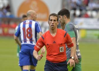 Indignados con el arbitraje de Pérez Pallas