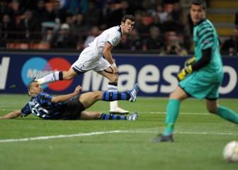 Gareth Bale se doctoró en San Siro con un 'hat-trick' al Inter