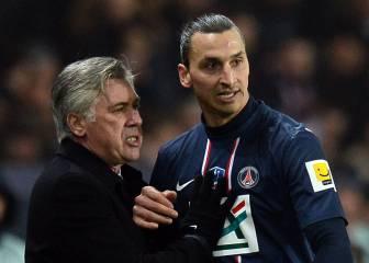 Ancelotti: 'Pedí a Ibrahimovic que no tratara así a los jovenes'