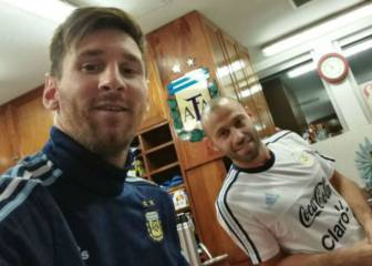 Messi y Mascherano se unieron a la selección argentina