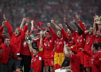 Un 25 de mayo el Liverpool le gana la Champions al Milán