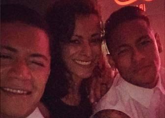 Neymar no ha tardado en darse su primera fiesta en Ibiza