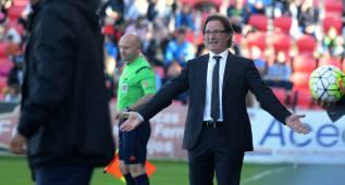 """Anquela: """"Nos jugamos más que el Real Zaragoza"""""""