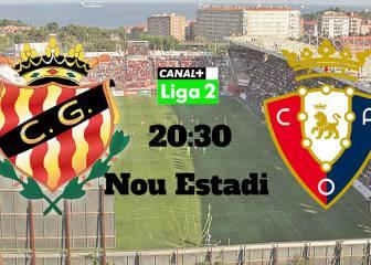 Nástic vs Osasuna en Vivo y en Directo Online: Liga Adelante